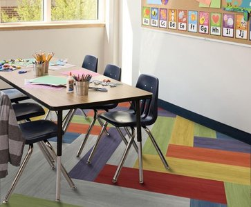 Science of Flooring in Education by Interface